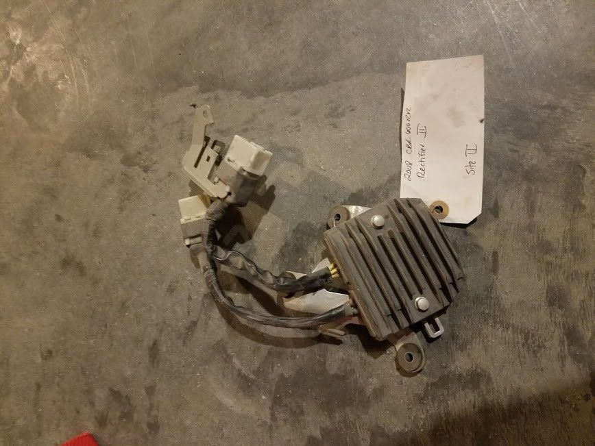 2008 HONDA CBR 600RR 600 RR OEM REGULATOR RECTIFIER